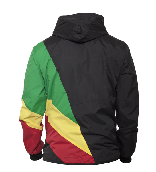 urban classics zig zag windrunner xxxl schwarz rasta ebay. Black Bedroom Furniture Sets. Home Design Ideas