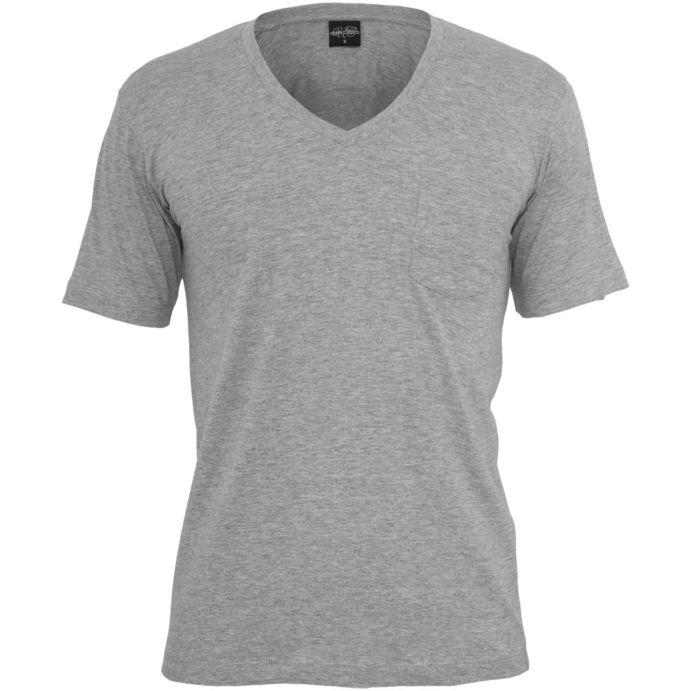 urban classics v neck pockets t shirt men 39 s with bag ebay. Black Bedroom Furniture Sets. Home Design Ideas